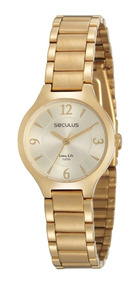 Relógio Seculus Long Life 2 Anos De Garantia 77017lpsvda1