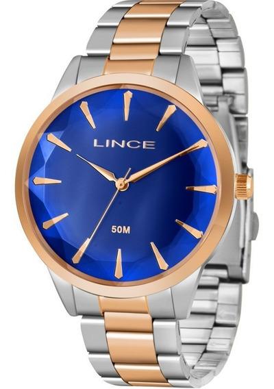 Relógio Lince Feminino Original Garantia Nota Lrt4563ld1sr