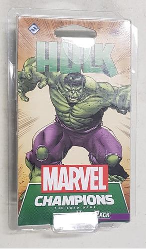 Marvel Champions Card Game Hulk Hero Pack Nuevo !!!