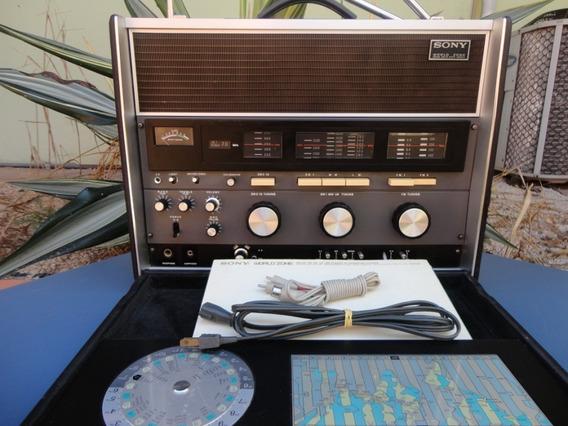 Radio Sony Multibanda Antigo Crf-230.