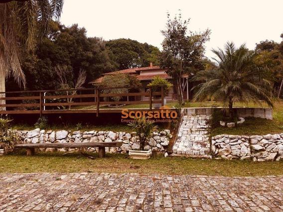Casa Com 3 Dormitórios À Venda, 400 M² Por R$ 1.600.000,00 - Centro - São Lourenço Da Serra/sp - Ca1649