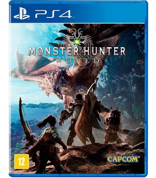 Jogo Monster Hunter World Ps4