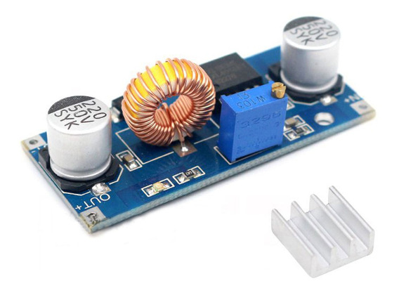 Regulador De Tensão Xl4015 5a Step Down Buck Conversor Dc Dc