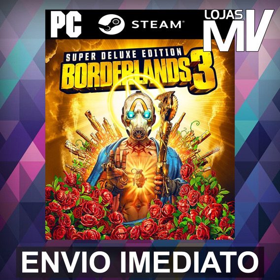 Borderlands 3 Super Deluxe - Pc Steam Gift Presente