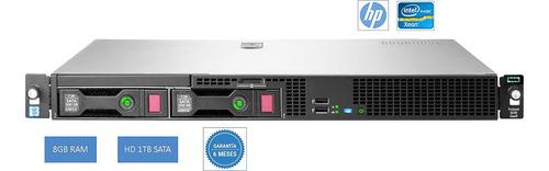 Imagem 1 de 9 de Servidor G9  Hp Dl20  Xeon  E3-1220 V6 8gb Hd1tb