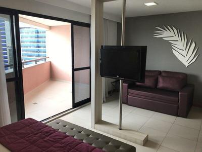 Apartamento Para Locação Em Salvador, Caminho Das Árvores, 1 Dormitório, 1 Suíte, 1 Banheiro, 2 Vagas - Mm 1826