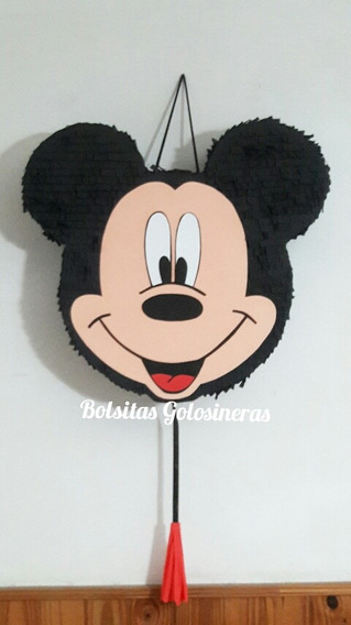 Piñata Artesanal Mickey. Minnie. Personalizada Cumpleaños
