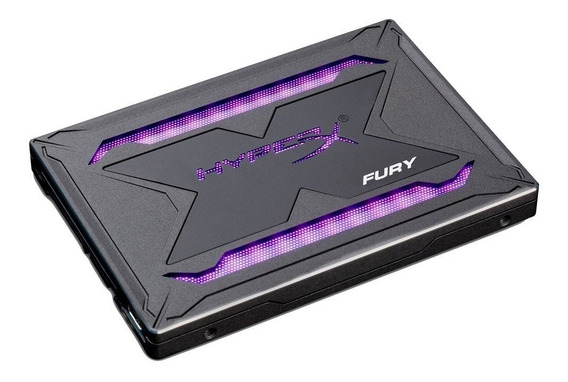 Disco Solido Gamer 240gb Hyperx Fury Ssd 2.5 Rgb 3