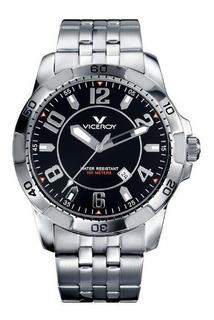 Reloj Hombre Viceroy 47649-55 Acero Inox 100 M Sumergible