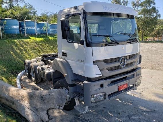 Mercedes-bens Axor 3344 6x4 Ano 2014 Cavalo Mecânico Top