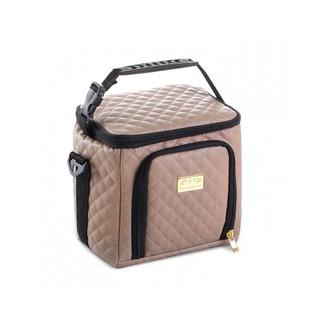 Bolsa Térmica Keeppack Mid Matelassê Nude + Kit - Kp00007