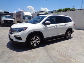 Honda Pilot 3.5 Touring At 2016 Blanco Diamante