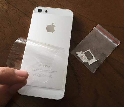 e0484eb7b96 Carcasa Iphone 5s Original - Accesorios para Celulares en Mercado ...