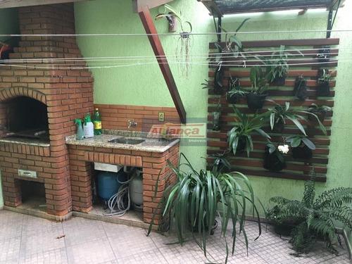 Sobrado Cond.fechado - 3 Dormitórios , 168 M² Por R$ 750.000 - Vila Moreira - Guarulhos/sp - Ai13474