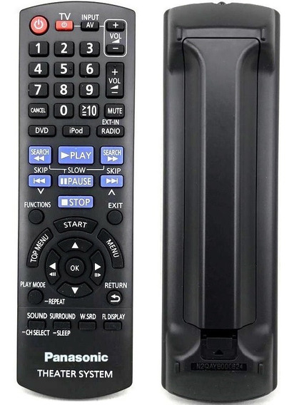 Controle Remoto P/ Home Theater Panasonic Sa-xh150 Original