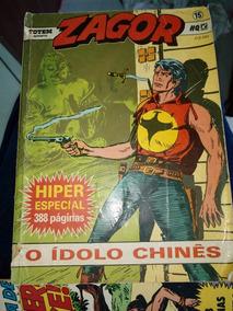 Zagor Hiper Especial 388 Pag: O Idolo Chinês