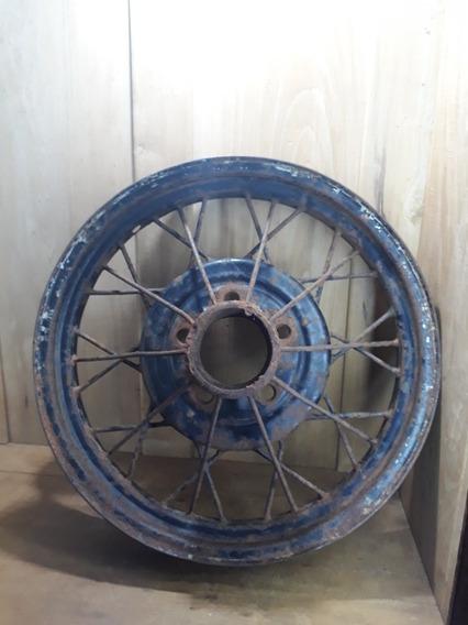 Antiga Roda De Carro Ford 29
