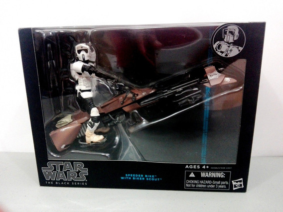 Swtrooper Black Series Speeder Bike Y Biker Scout 6 Pulgadas