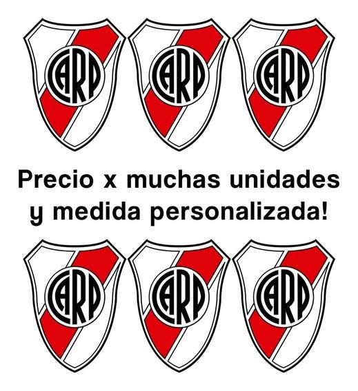 Parches Termoadhesivos River Plate Escudo Fútbol Aplique