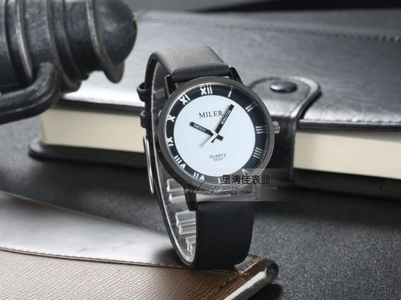 Promoção Relógio Feminino Original Couro Barato C/ Estojo