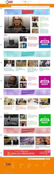 Super Portal De Notícias Administrável 2019