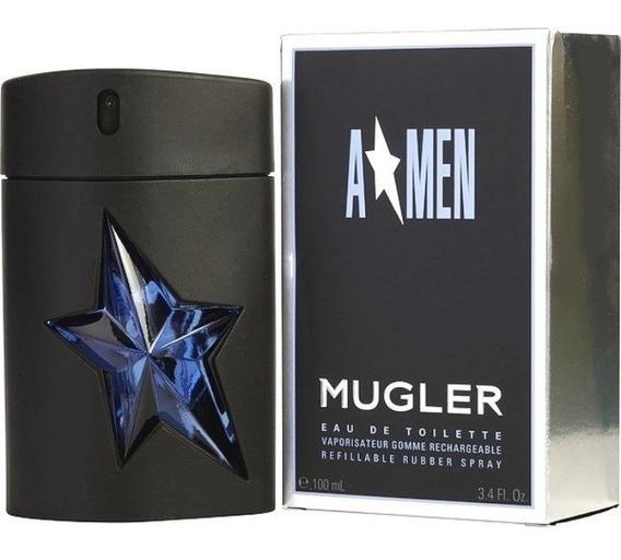 Perfume Thierry Mugler Angel Men Rubber Masculino 100ml Edt