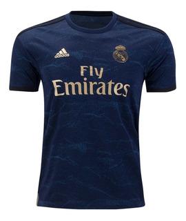 Camisa Real Madrid Oficial Away Pronta Entrega