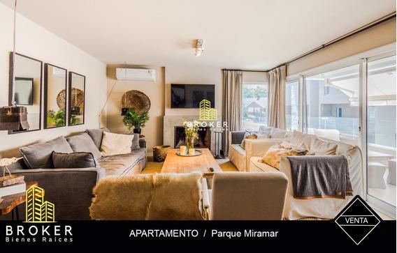 Apartamento 2 Dormitorios En Parque Miramar