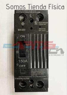 Breaker Tqd 2x150 Amp General Electric Nuevo En Su Caja