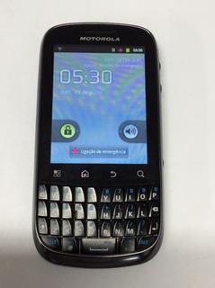 Motorola Xt316 Spice Key - 3.2mp 3g, Wi-fi, Gps **usado**