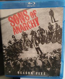 Blu-ray Sons Of Anarchy - 5ª Quinta Temporada - 3 Discos