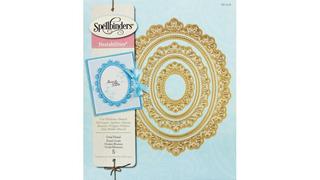 Oval Floral - Dies Spellbinders