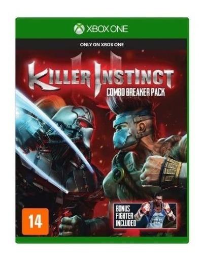 Jogo Killer Instinct Combo Breaker Pack Para Xbox One