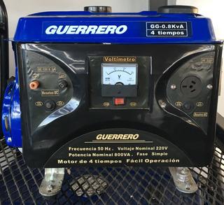 Generador Guerrero 0.8 Kva Grupo Electrogeno 4 Tiempos Nafta