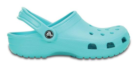 Crocs Originales Classic Turquesa Unisex Hombre Mujer