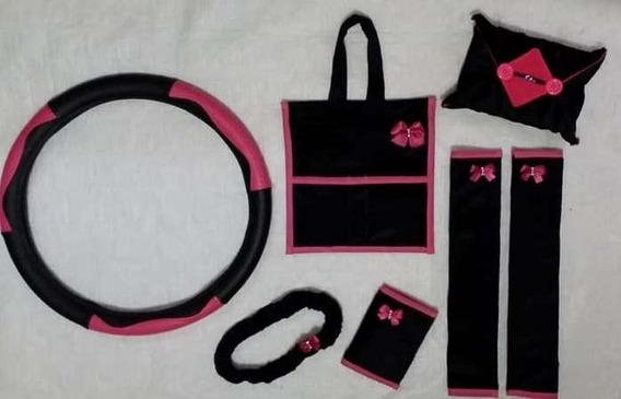 Kit/acessórios Carro Feminino/lixeira/lixo/tapetes/volante