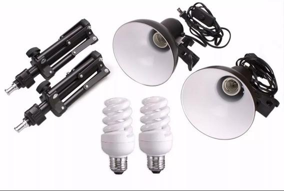 Kit Iluminação Para Mini Estudio 110v 45w