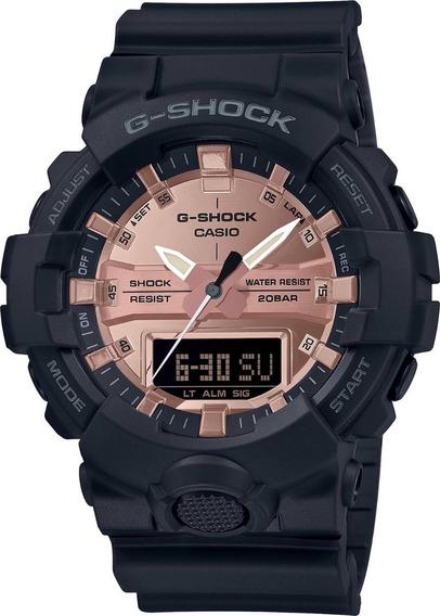 Relógio Casio Masculino G-shock Anadigi Ga-800mmc-1adr