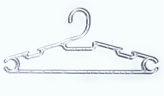 Cabide Acrílico Para Camisa Blusa Kit Com 100 Unidades