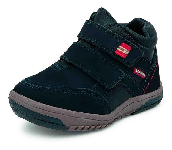 Zapato Para Bebe Yuyin 27040 Marino 12-14 Meses Solo Enteros