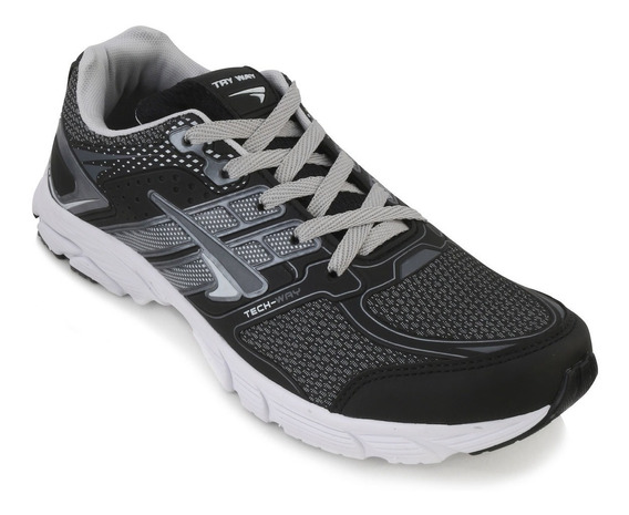 Tênis Masculino Tryway Jogging Numero Grande 44-45-46-47-48