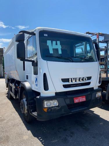 Iveco 170e28 Compactador De Lixo Toco Ano 13*14
