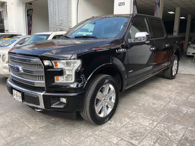 Ford Lobo 3.5 Doble Cabina Platinum 4x4 At 2017 Negra