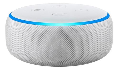 Smart speaker Amazon Echo Dot 3rd Gen com Alexa tela 110V/240V sandstone