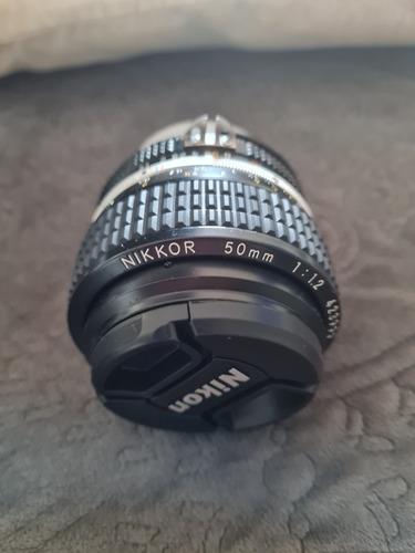 Lente Nikon 50mm 1.2