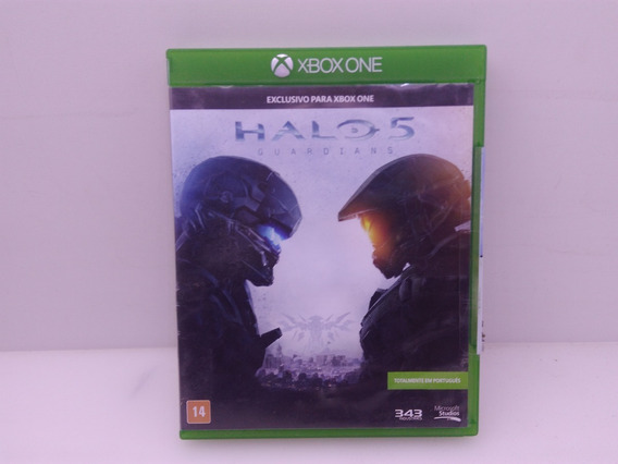 Halo 5 Guardians Do Xbox One Original Mídia Física