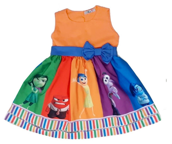 Vestido Divertidamente Infantil