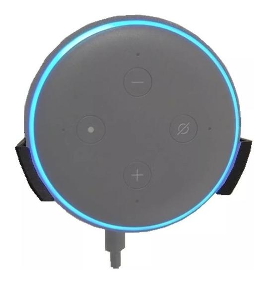 Suporte De Parede Amazon Echo Dot Gen. 3 + Parafusos