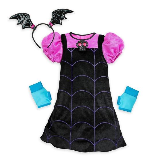 Vestido Vampirina Cos Original Marca Disney Importado De Wdw