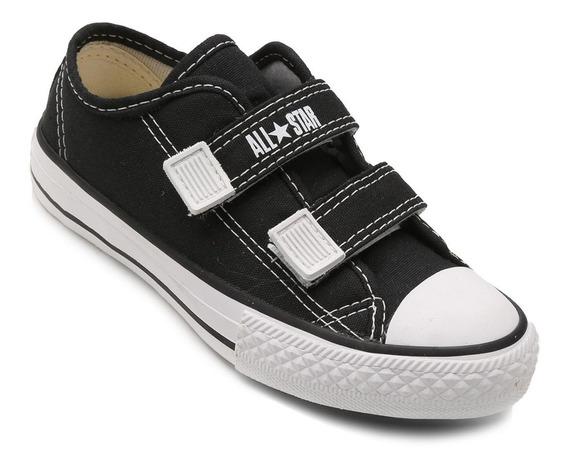 Tênis Infantil Converse All Star Ct Border 2 Velcros - Preto